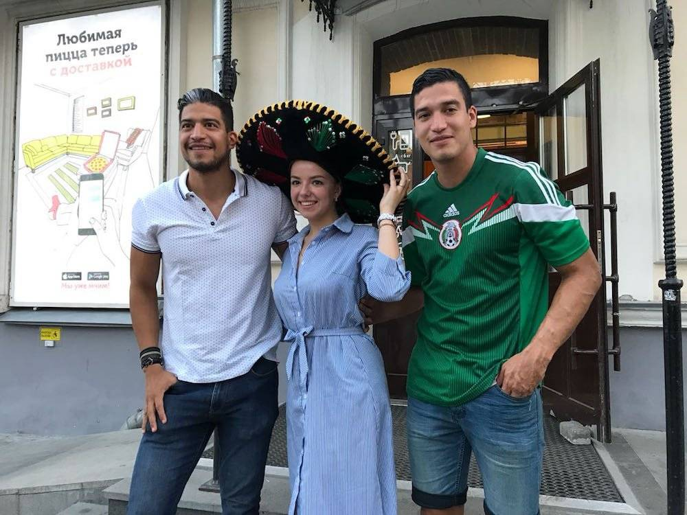 Fans mexicanos