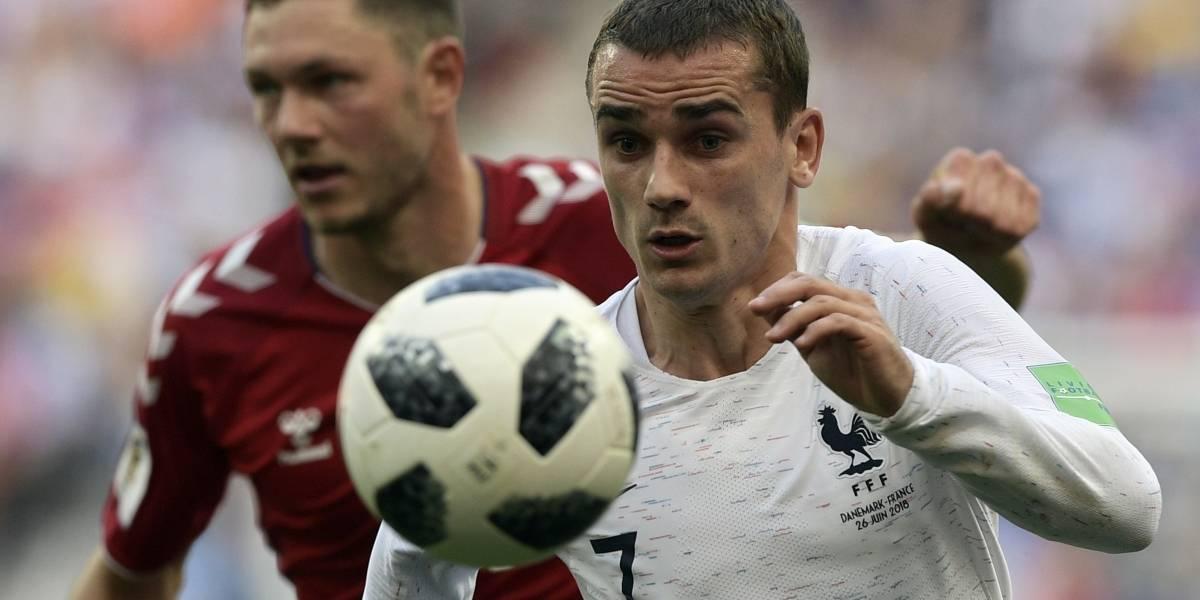 Francia  y Dinamarca el peor partido de la Copa del Mundo
