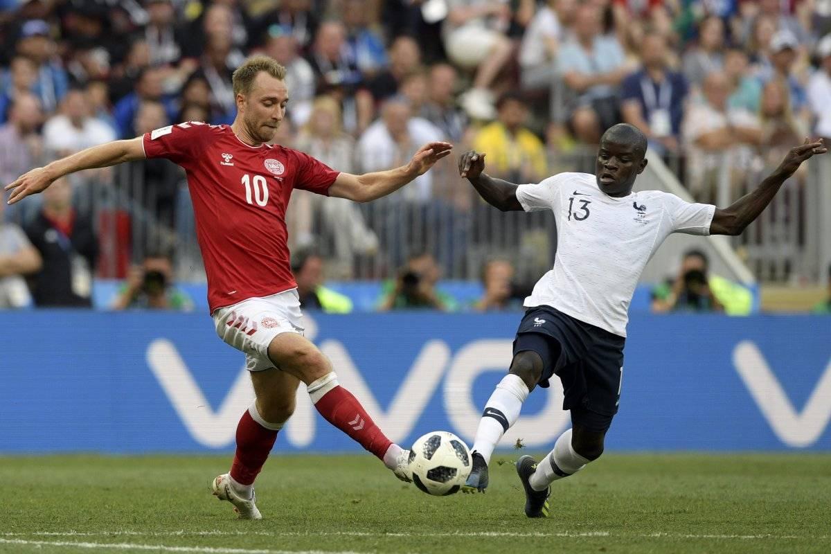 Un partido flojo mostraron daneses y franceses