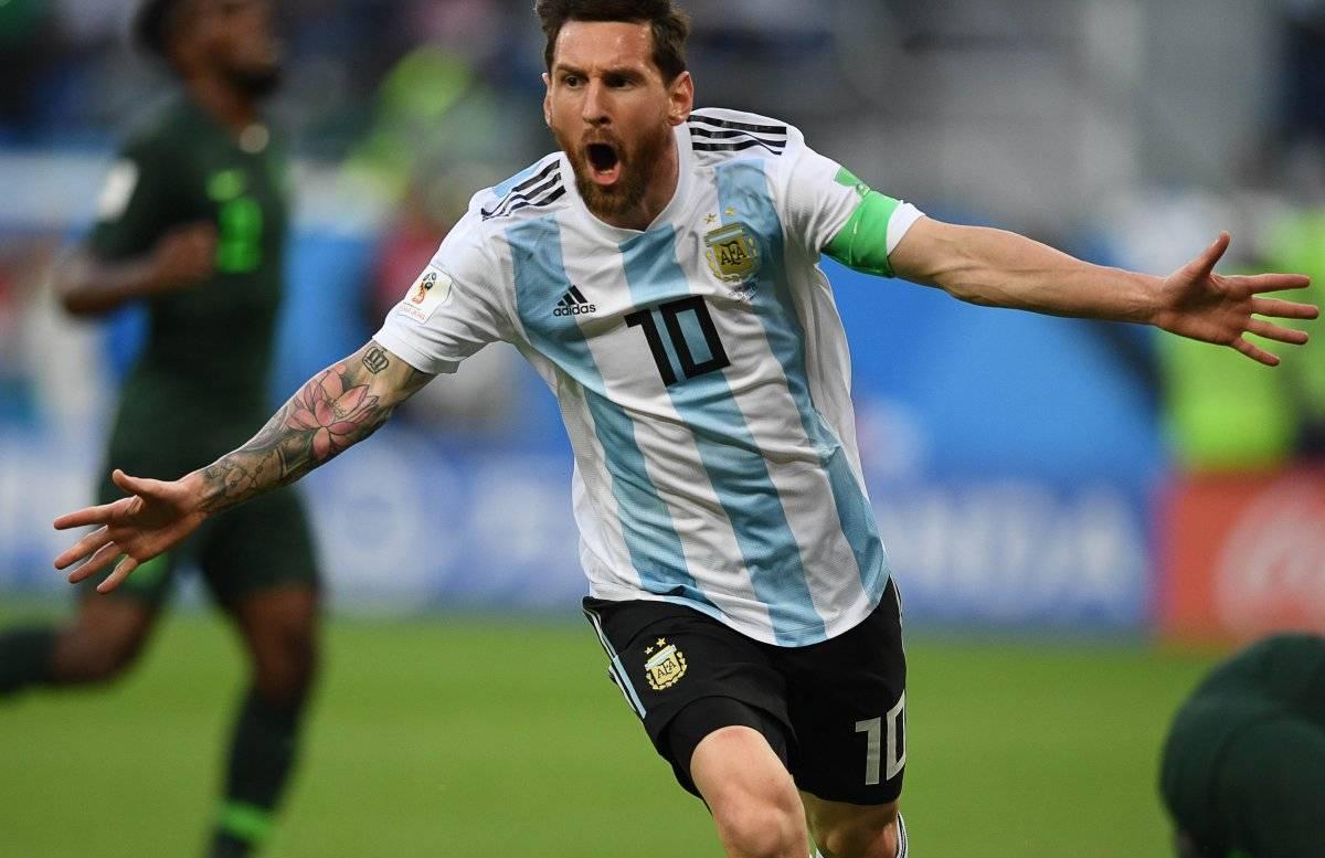 Messi mostró hoy su mejor versión