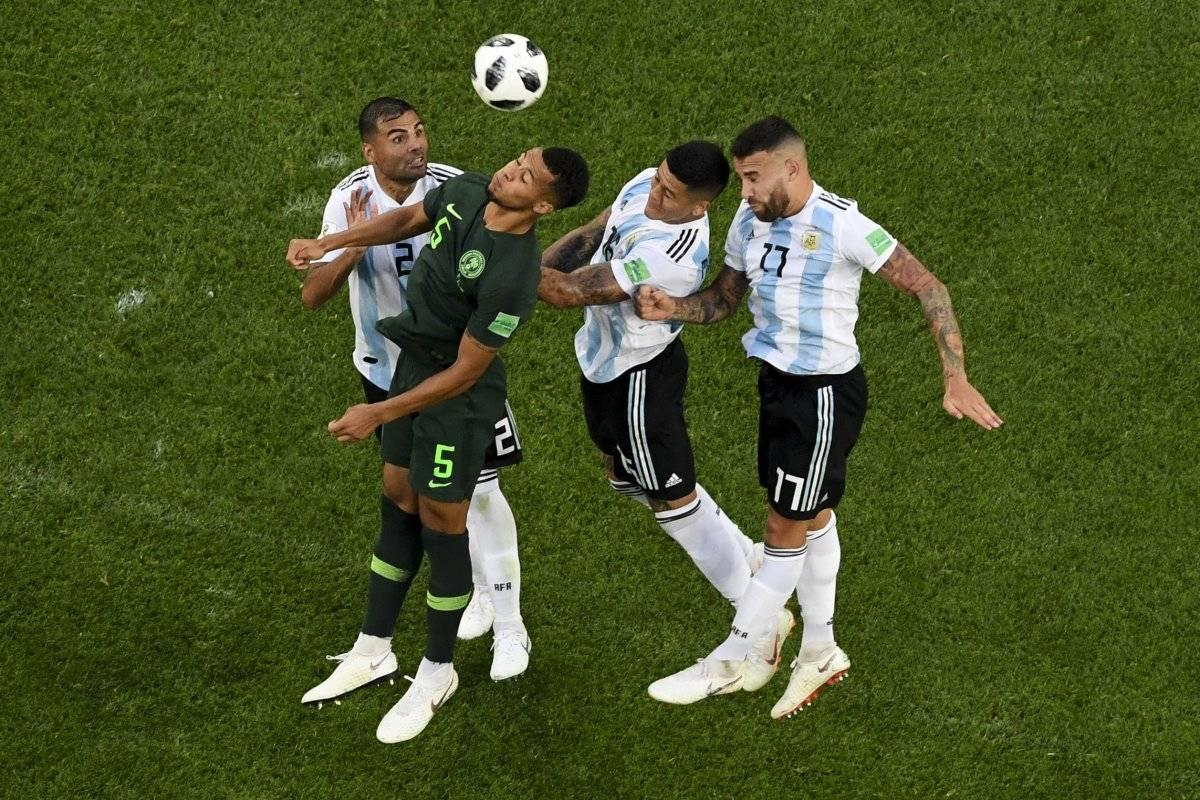 Nigeria estuvo muy presionada por Argentina