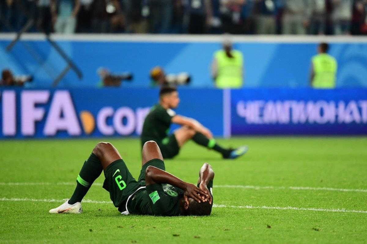 Los nigerianos lamentaron su eliminación