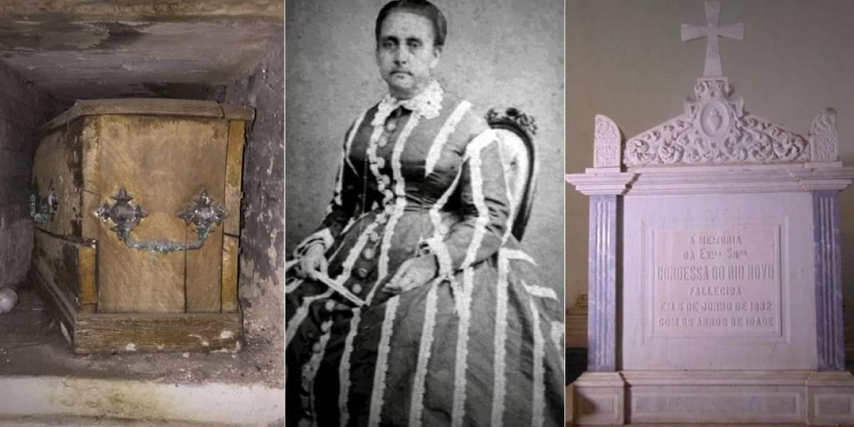A misteriosa história da condessa brasileira que tem dois túmulos