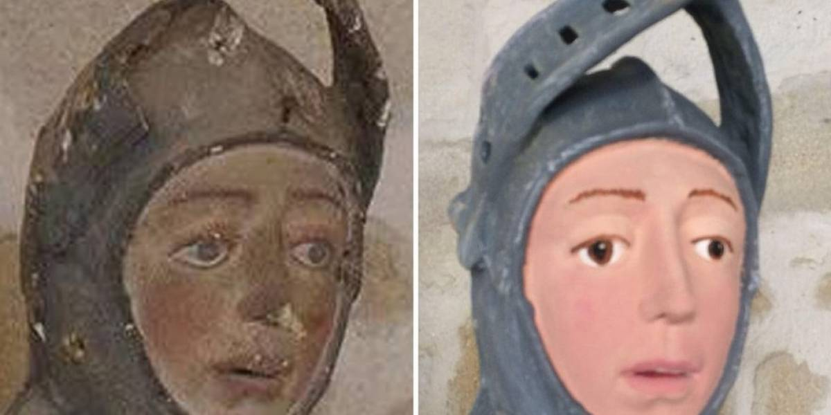 Restauração amadora de obra de arte histórica causa revolta na Espanha - de novo