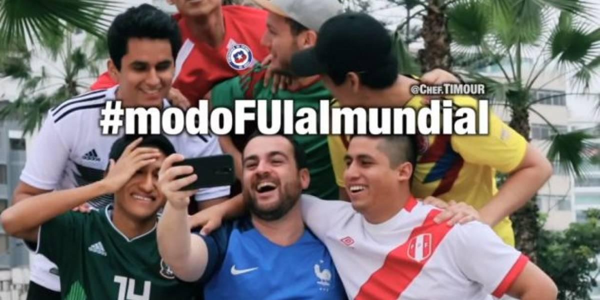 #modoFUIalmundial: La respuesta peruana al comercial chileno que se burló de su selección