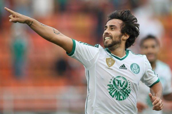 Jorge Valdivia se acostumbró a ganar en Palmeiras / imagen: Photosport