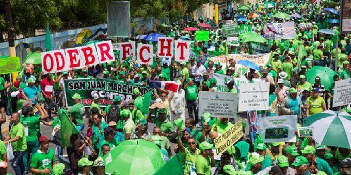 Marcha Verde convoca movilización para pedir justicia por caso Odebrecht