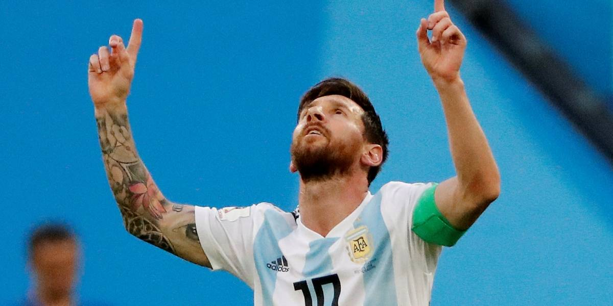 Copa do Mundo: Veja o primeiro gol de Messi no jogo da Nigéria x Argentina