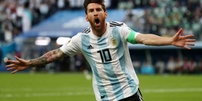 Argentina - gol do Messi