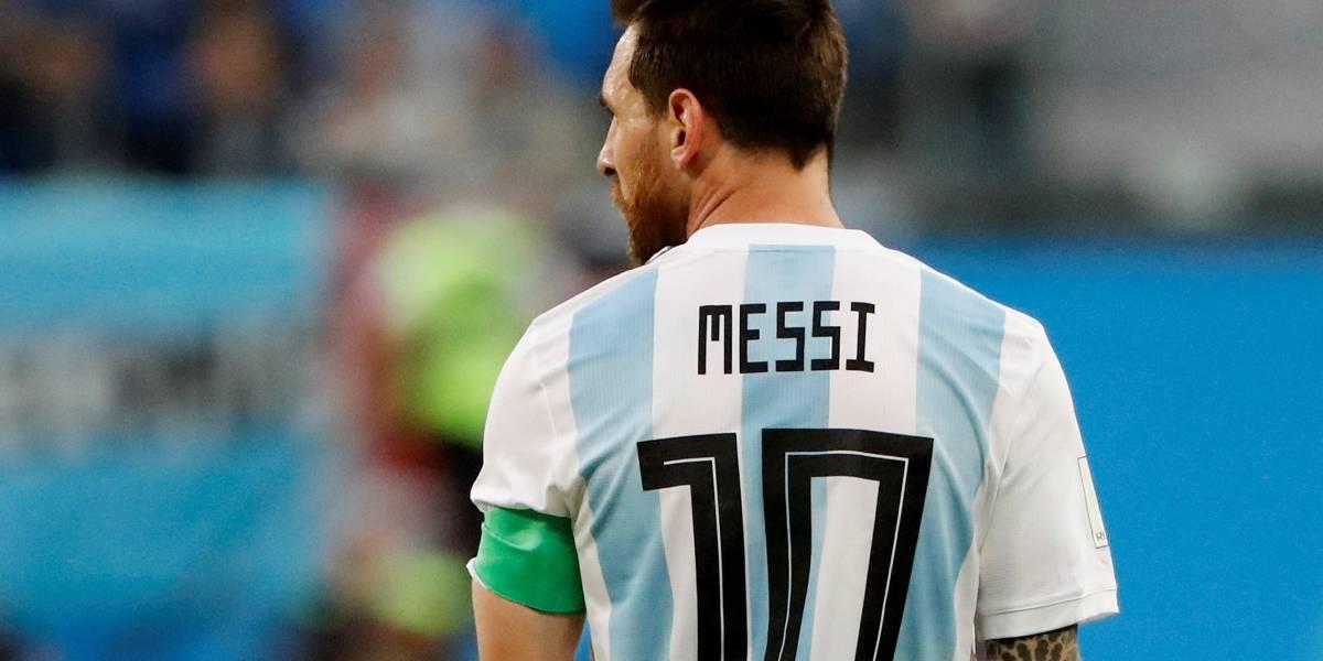 Copa do Mundo: Argentina enfrenta Nigéria; veja fotos do primeiro tempo