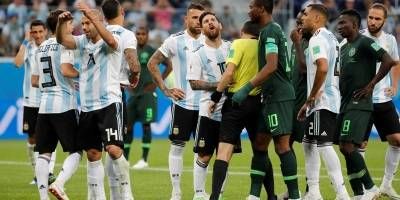 Nigéria x Argentina