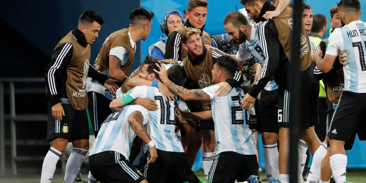 Copa do Mundo: Croácia e Argentina se classificam; veja tabela completa do grupo D