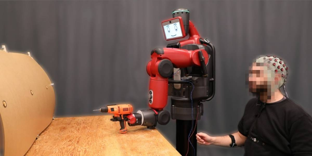 MIT desarrolla un robot que puede ser controlado con la mente