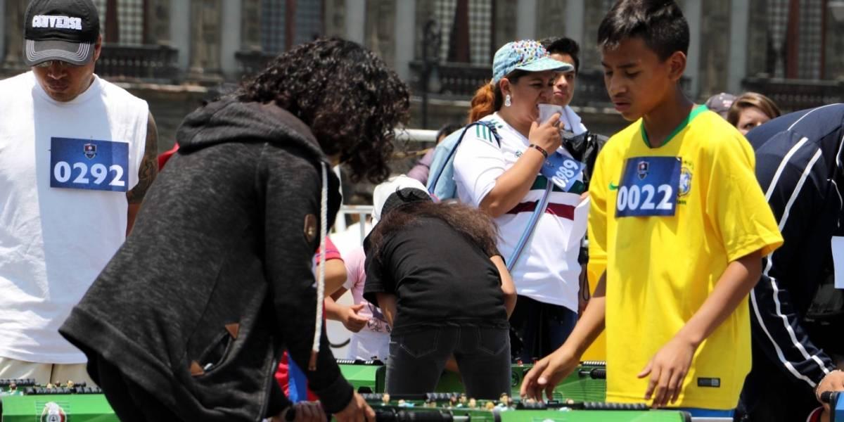 México le arrebata otra victoria a Alemania: rompen Récord Guinness con torneo de futbolito