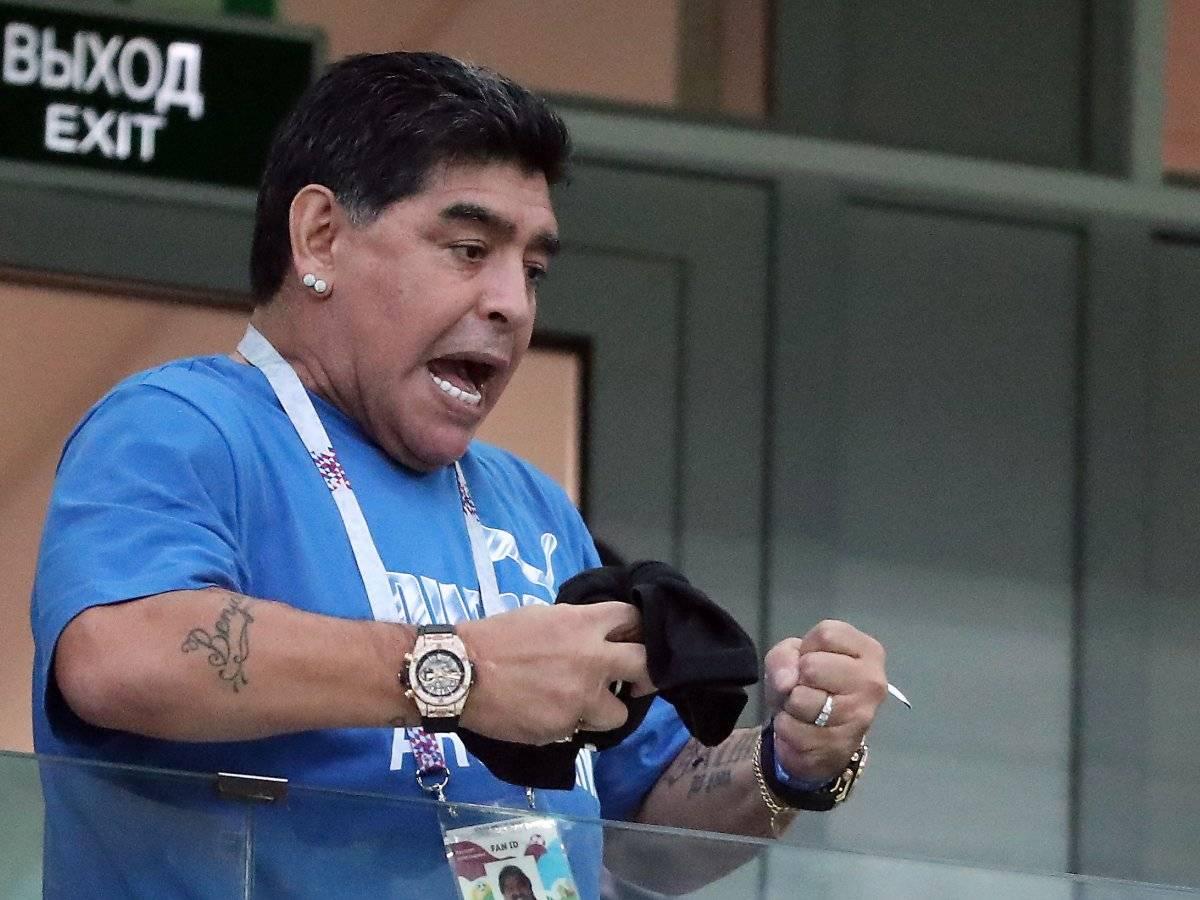 Dalma, hija de Maradona, desmiente audios que circulan en redes sobre su padre EFE