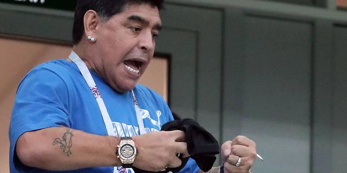 ¿Se murió Maradona? Dalma, hija del futbolista, desmiente rumores