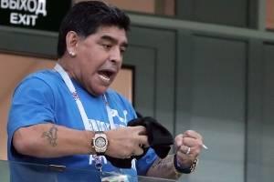 Dalma, hija de Maradona, desmiente audios que circulan en redes sobre su padre