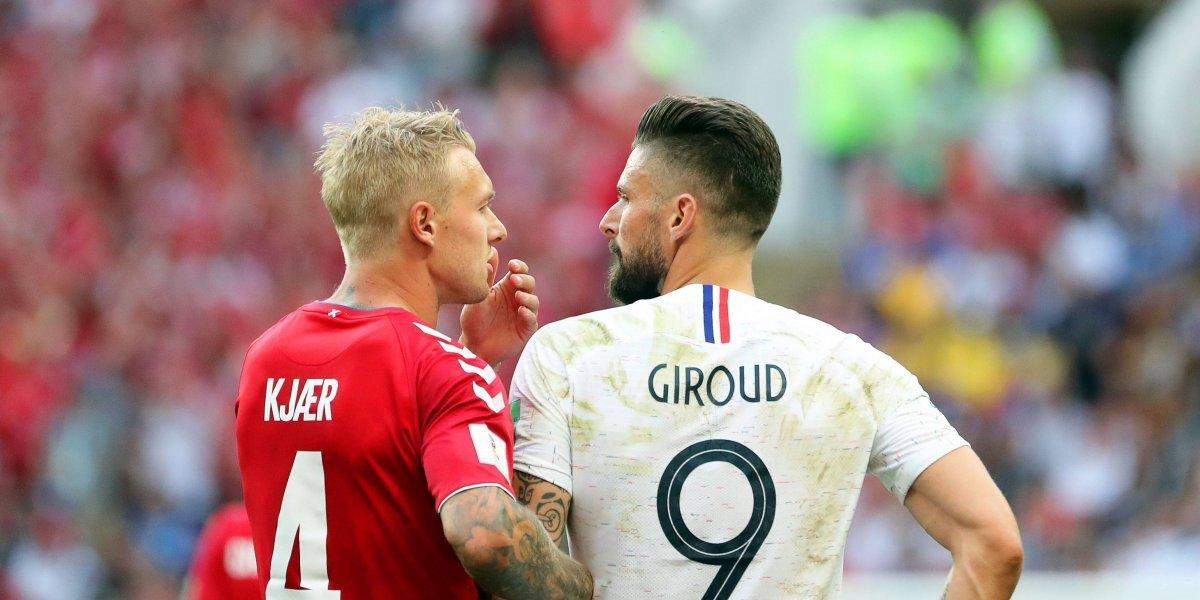 ¡El tratado de Moscú! Dinamarca y Francia protagonizaron el peor partido del Mundial