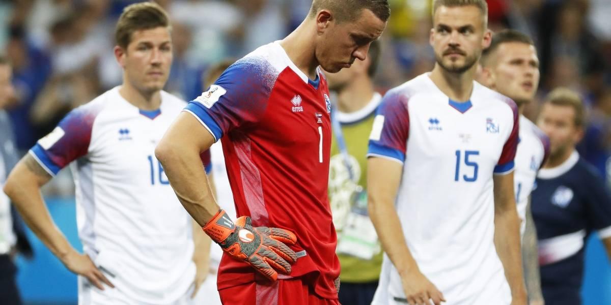 A la cenicienta Islandia le dieron las 12 y se acabó su sueño mundialista