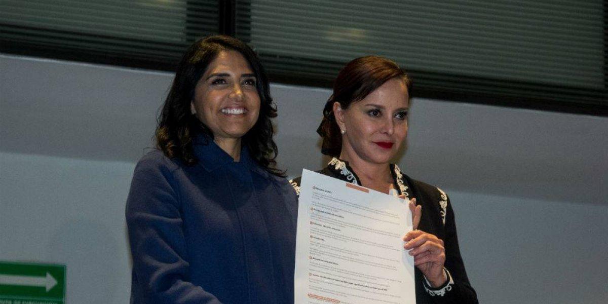 Purificación Carpinteyro pide votar por Barrales; no es una declinación, aclara