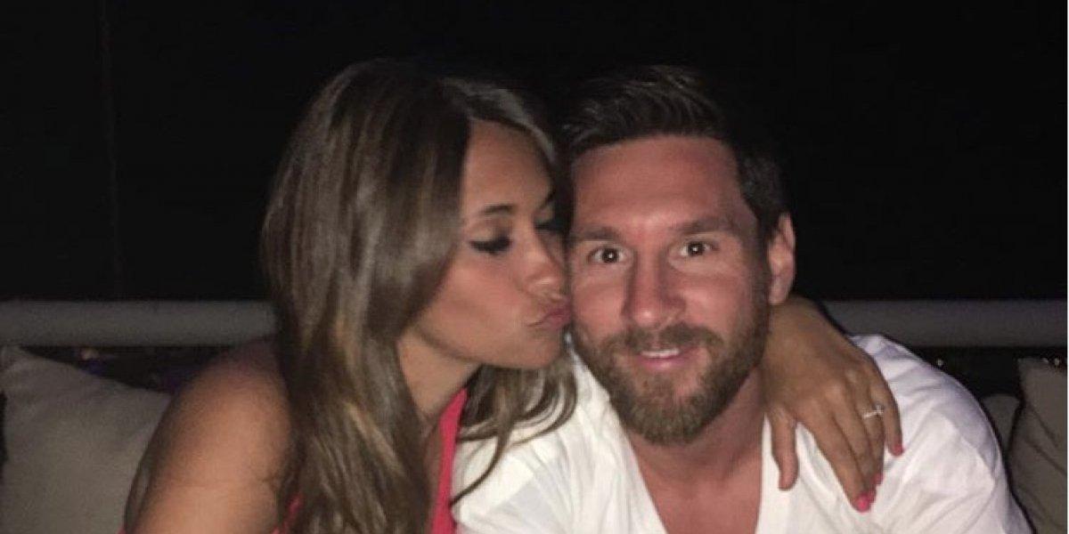 Antonela Roccuzzo no esconde su amor por Messi y le dedica este mensaje