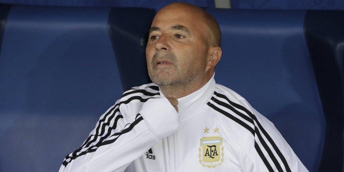 """A Sampaoli le resultó el verso en Argentina: """"Estos jugadores jugaron con el corazón, con rebeldía"""""""