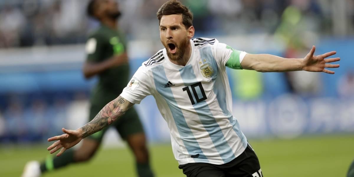 """Argentina vs Nigeria: """"Raspando"""" la Albiceleste se mete en los octavos de final del Mundial Rusia 2018"""