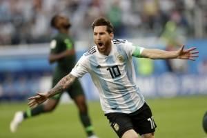 Argentina vs Nigeria clasificó a octavos de final
