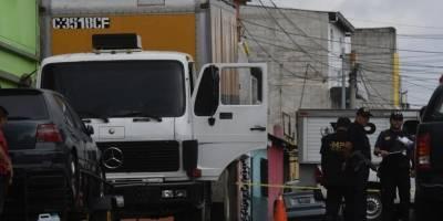 Ataque armado contra piloto del camión recolector de basura