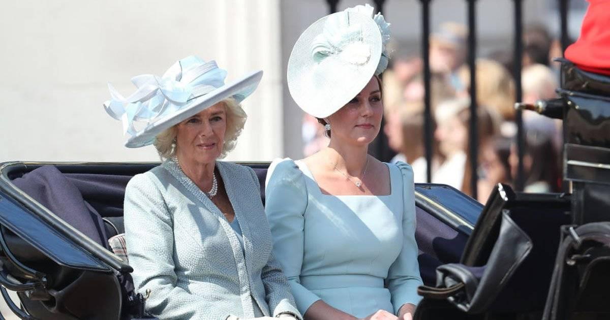 Camilla Parker Bowles e Kate Middleton