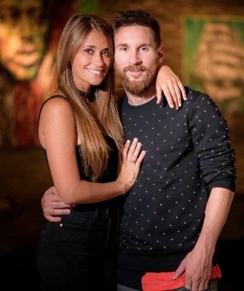 antoroccuzzo88 Esposa de Lionel Messi
