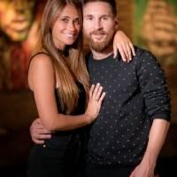 Esposa de Lionel Messi
