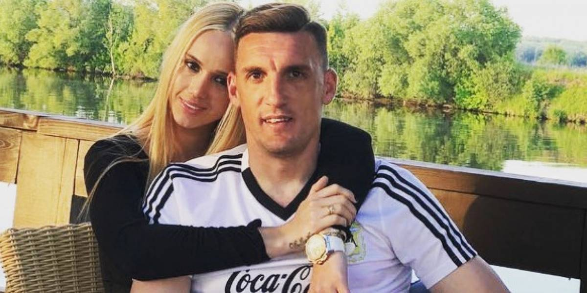 Daniela Rendón la sexy colombiana esposa del arquero de Argentina Franco Armani