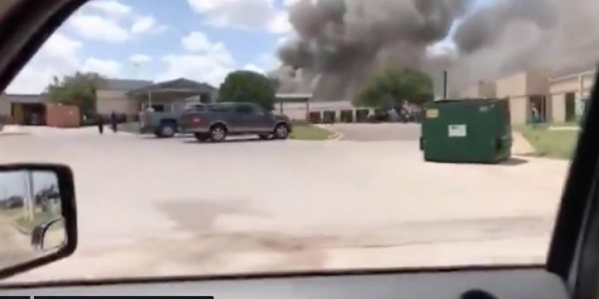 Reportan fuerte explosión en un hospital de Gatesville, Texas
