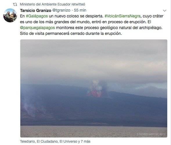 Volcán Sierra Negra Galápagos