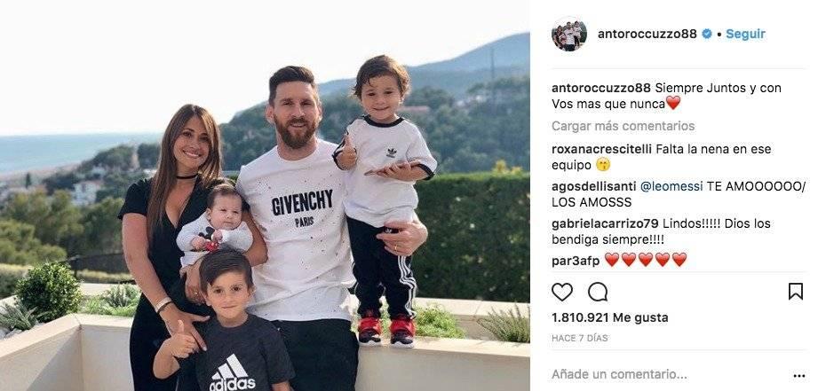 El mensaje de Antonella Roccuzzo, esposa de Lionel Messi, tras la victoria de Argentina