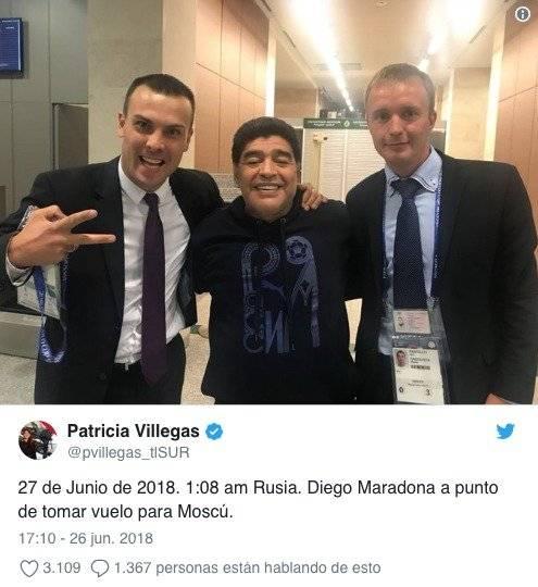 Patricia Villegas Twitter