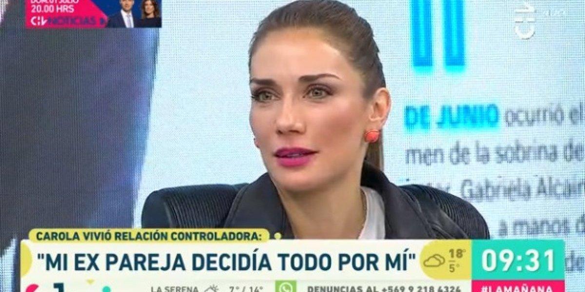 """""""Mi ex pareja decidía todo por mí"""": El crudo relato de Carola de Moras tras ser víctima de violencia"""