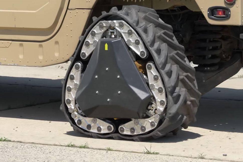 DARPA nos sorprende con ruedas totalmente adaptables según el terreno para sus vehículos militares