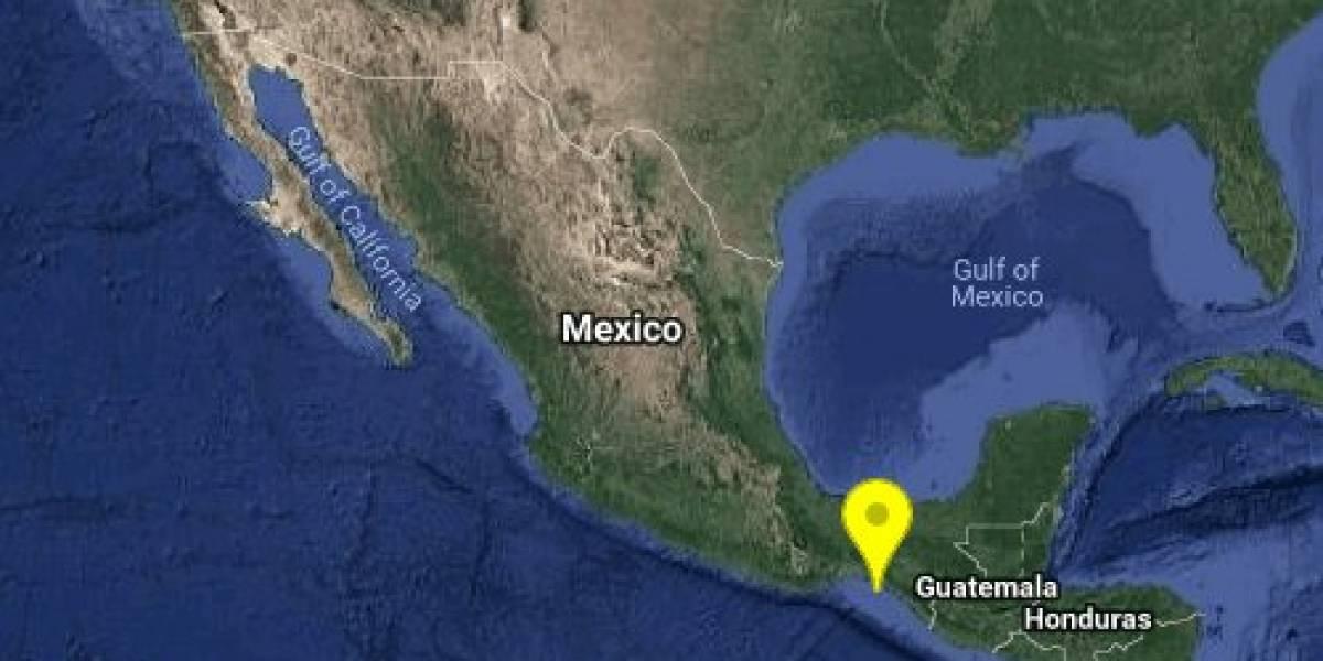 Se registra sismo magnitud preliminar 5.2 en Chiapas
