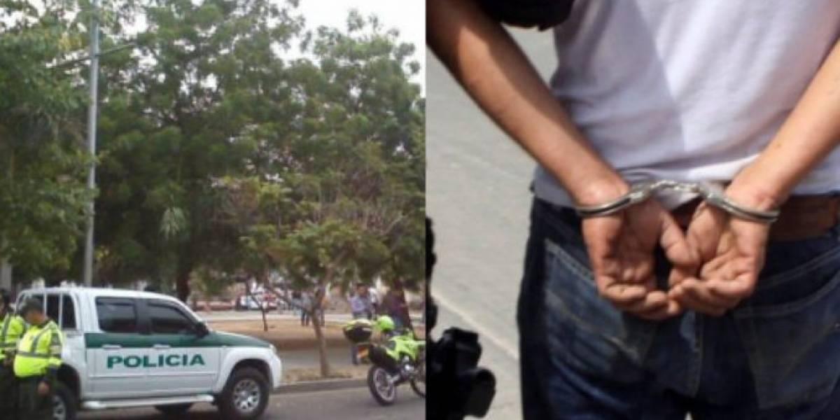 Policía evitó  que una mujer castrara a un extranjero que la iba a robar
