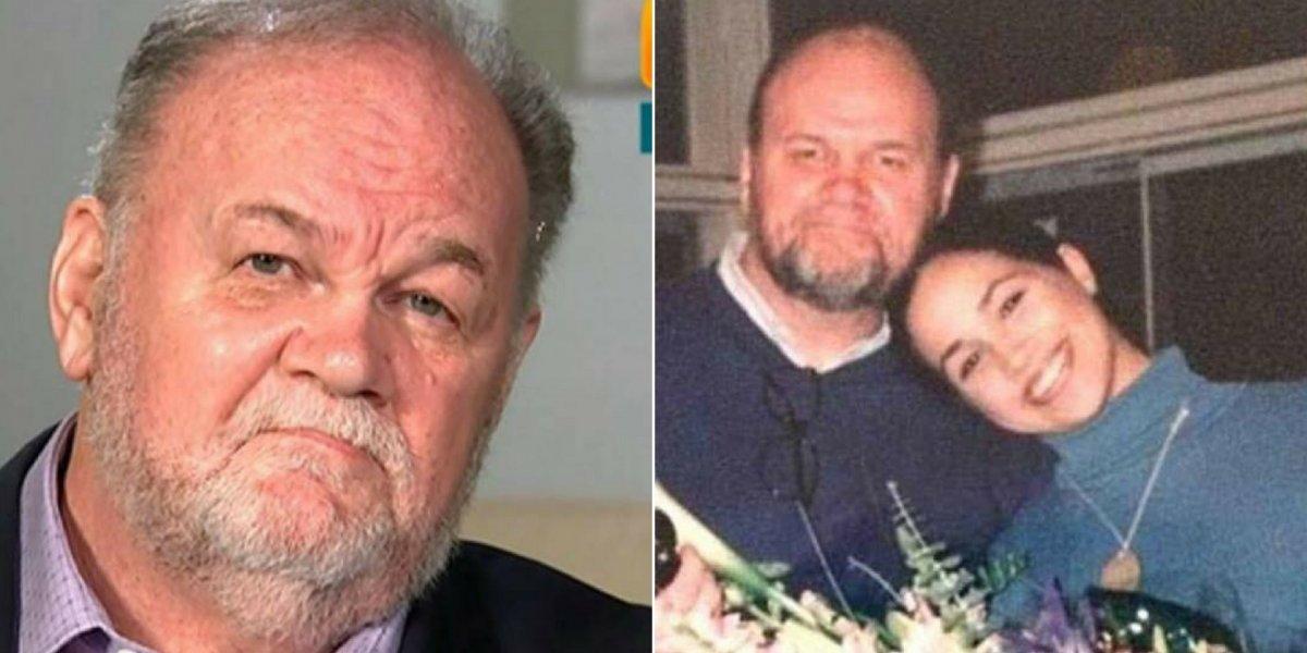 A razão pela qual Meghan Markle não felicitou seu pai no 'Dia dos Pais'