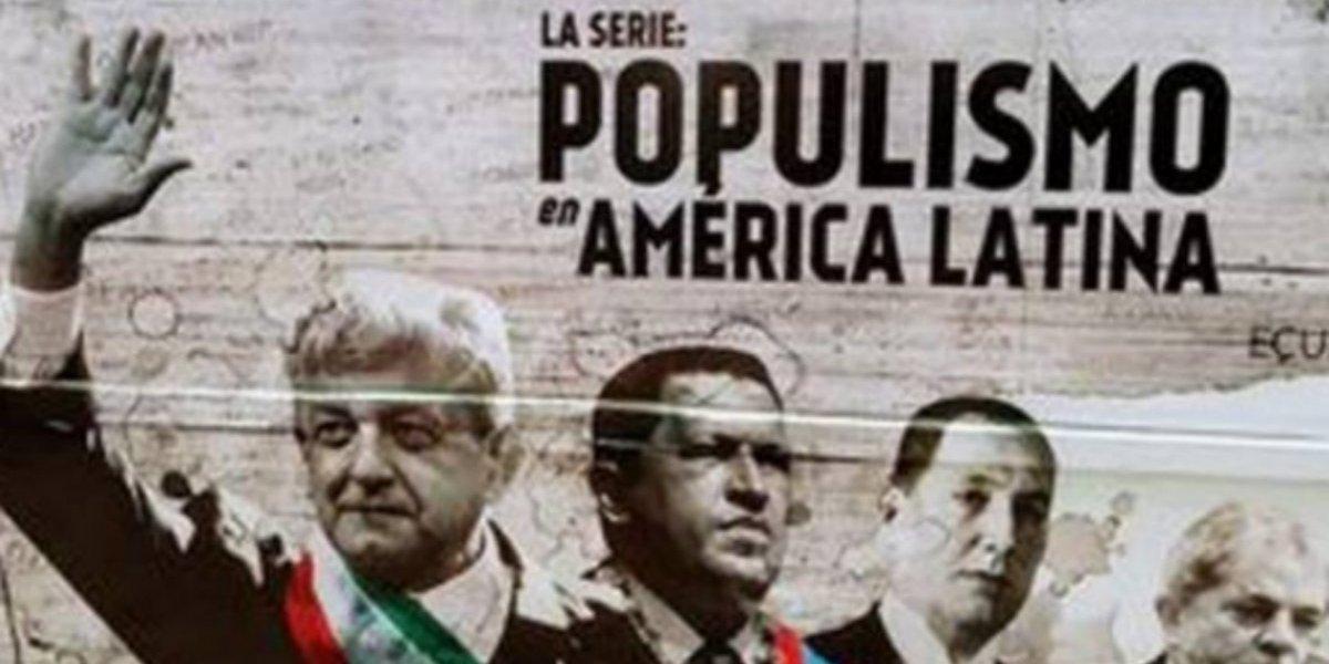 'Llégale', dice AMLO a Alejandro Quintero por serie sobre populismo