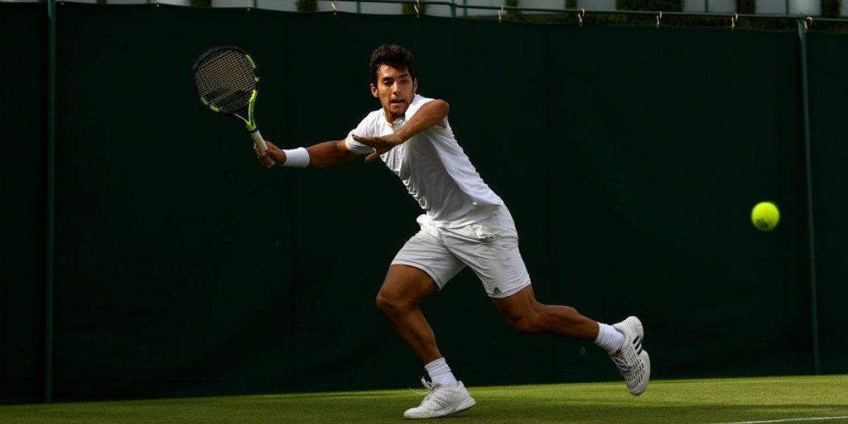 """Christian Garín sigue firme en el """"pasto sagrado"""" y quedó a un paso de entrar al cuadro de Wimbledon"""
