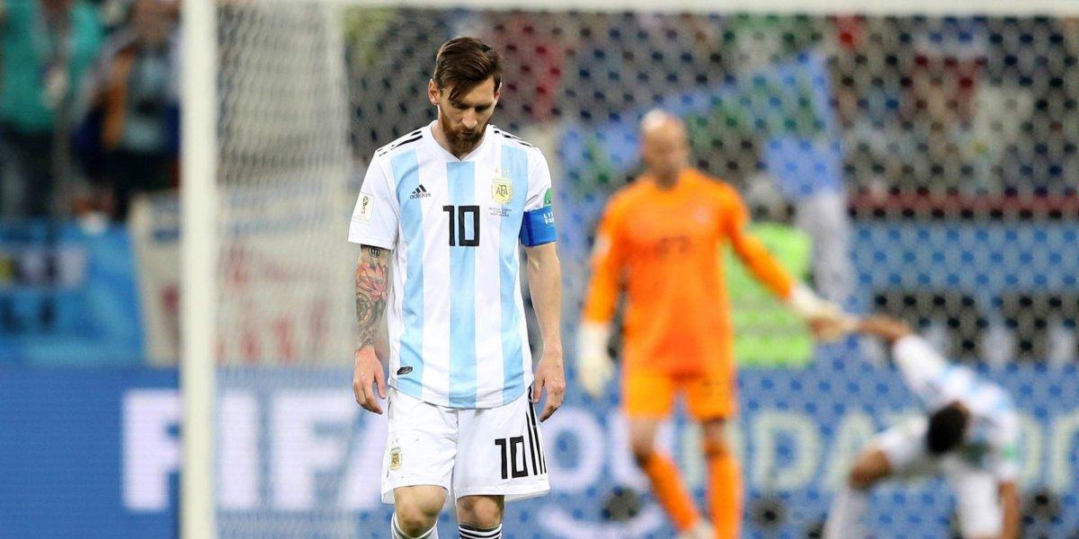Ruso pide divorcio a su mujer tras discusión por rendimiento de Messi