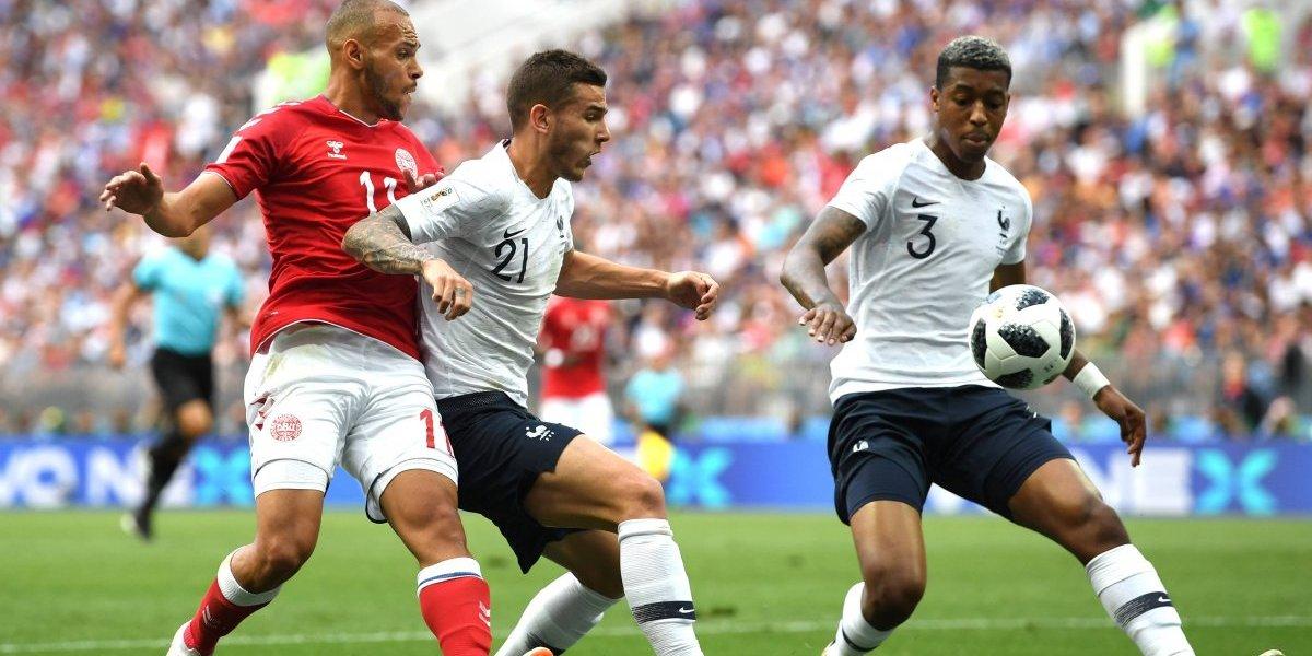 Dinamarca y Francia estrenan el empate a ceros en Rusia 2018