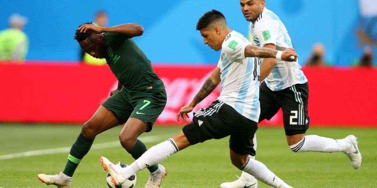 Así vivimos la dramática clasificación de Argentina a octavos de final del Mundial