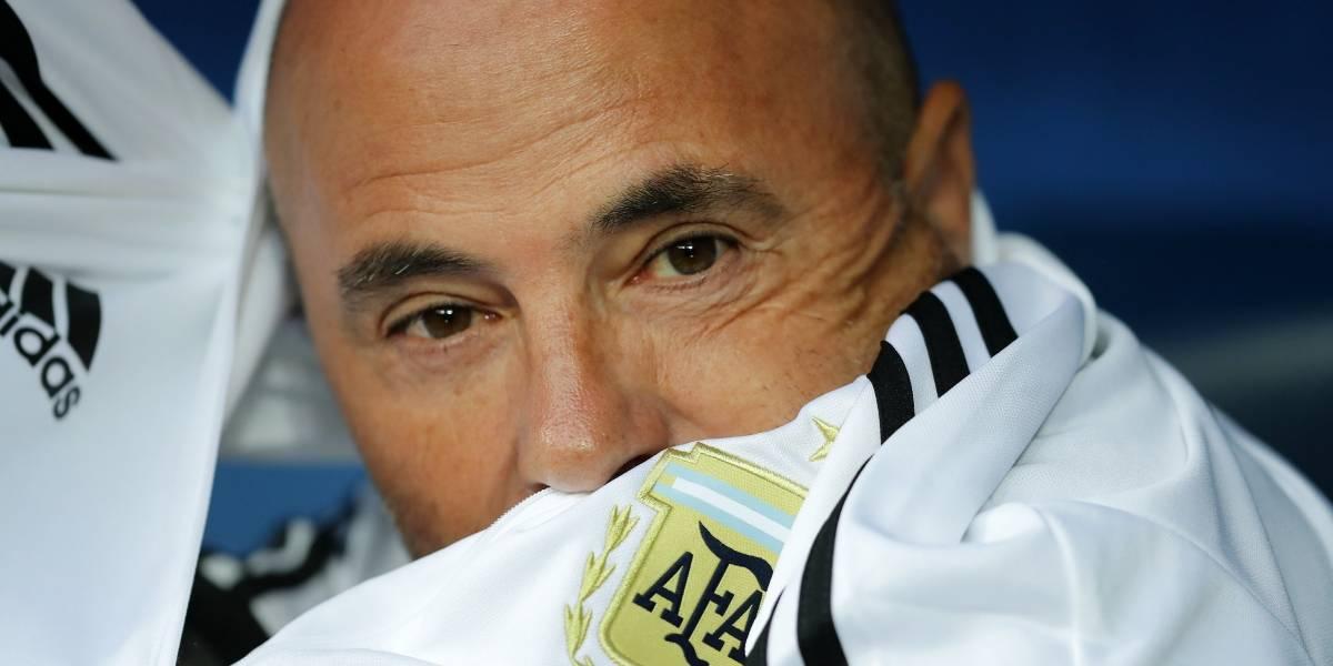 Sampaoli se comió una tremenda pifiadera en la previa del partido de Argentina con Nigeria