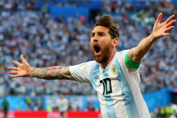 Video del gol de Lionel Messi con Argentina VS Nigeria