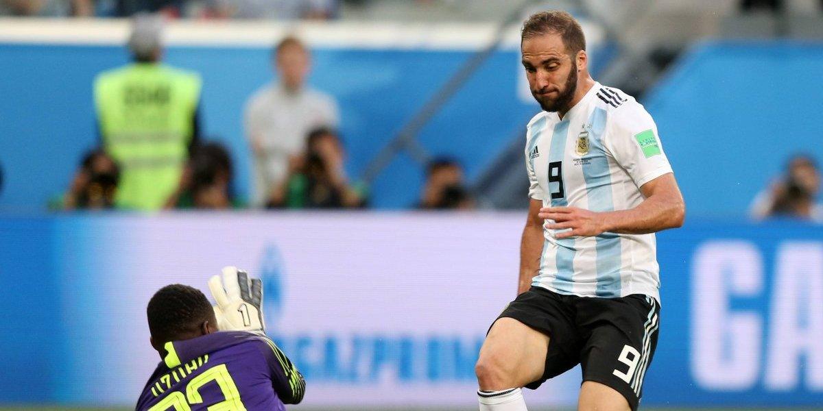 Sólo el Pipita supera al Pipita: el increíble fallo de Higuaín en el dramático partido de Argentina en Rusia 2018